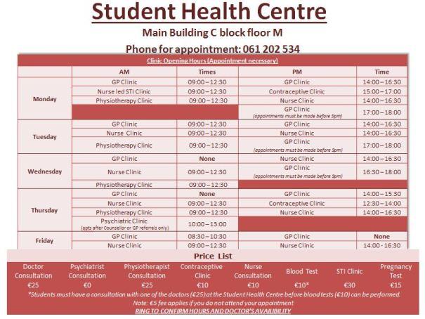 Student Health Centre